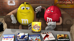 M&m's TV advert