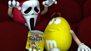 M&m's Scream 4